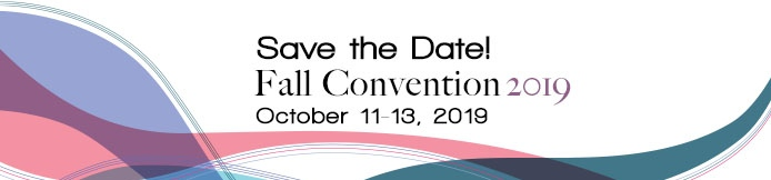 Save the Date for the WSPA 2019 Fall Convention