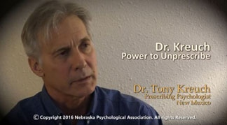 Dr. Tony Kreuch, Prescribing Psychologist