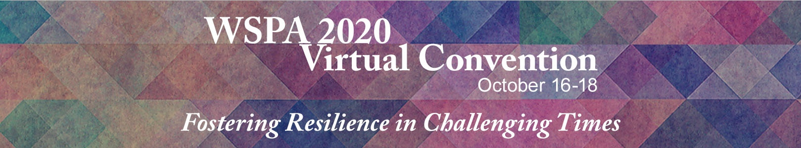 Join us at our 2020 virtual convention.