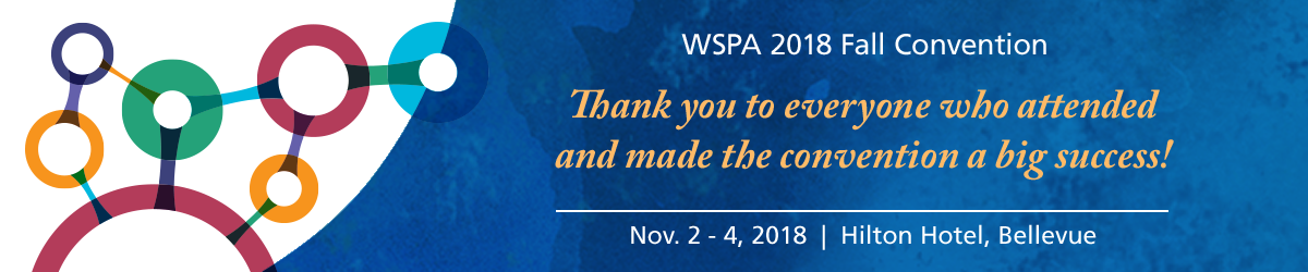 WSPA 2018 Fall Convention Banner