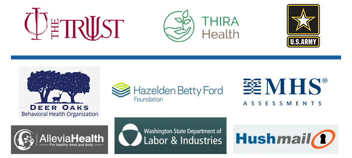 WSPA 2018 Convention Sponsors: THIRA Health, U.S. Army, and The Trust